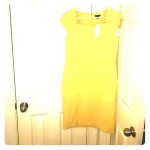 Yellow Ann Taylor dress